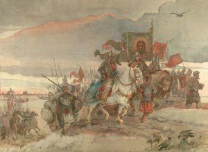 Поход Александра Невского на помощь новгородцам